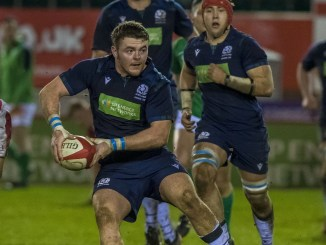 Thomas Lambert is switching from Sydney University in Australia to the Glasgow Warriors Academy after impressing for Scotland Under-20s last season. Image: © Craig Watson - www.craigwatson.co.uk