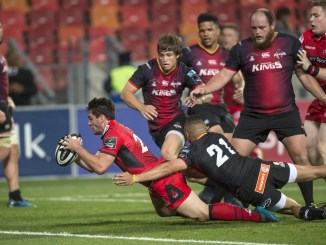 The Southern Kings in action against Edinburgh soon after they joined the PRO14 back in 2017. Image: ©Christiaan Kotze/Fotosport
