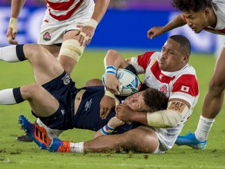 Japan are due to travel to Europe this Autumn with a re-match of last year's World Cup clash against Scotland on the schedule. Image: © Craig Watson - www.craigwatson.co.uk