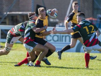 GHA and Currie Chieftains in Premiership action last season. Image: © Craig Watson - www.craigwatson.co.uk