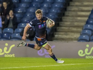 James Johnstone replaces the injured Mark Bennett at outside centre. Image: ©Craig Watson