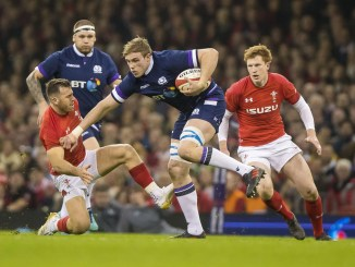 Jonny Gray in action for Scotland versus Wales in 2018. Image: © Craig Watson - www.craigwatson.co.uk