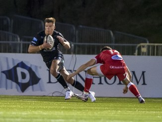 Huw Jones will be looking for another big performance at full-back for Glasgow Warriors. Image: © Craig Watson - www.craigwatson.co.uk