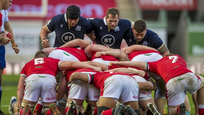 Weaponising their scrum is one of the big steps forward made by Scotland since last year's World Cup. Image: © Craig Watson - www.craigwatson.co.uk