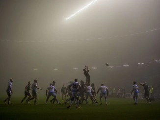 Edinburgh played Cardiff Blues in a fog at Murrayfield earlier in the month. Image: © Craig Watson - www.craigwatson.co.uk