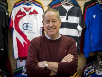 After 38 years in the business, Colin Campbell is sure that Macron are the most reliable sportswear suppliers he has dealt with. Image: © Craig Watson - www.craigwatson.co.uk