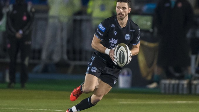 Sean Kennedy in action for Glasgow Warriors. Image: © Craig Watson - www.craigwatson.co.uk