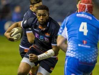 Bill Mata is the latest current Edinburgh player to sign up again for next season. Image: ©Craig Watson