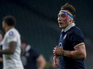 James Ritchie says Scotland must recreate the discipline of last Saturday's win over England when they take on Wales this Saturday. Image: © Craig Watson - www.craigwatson.co.uk