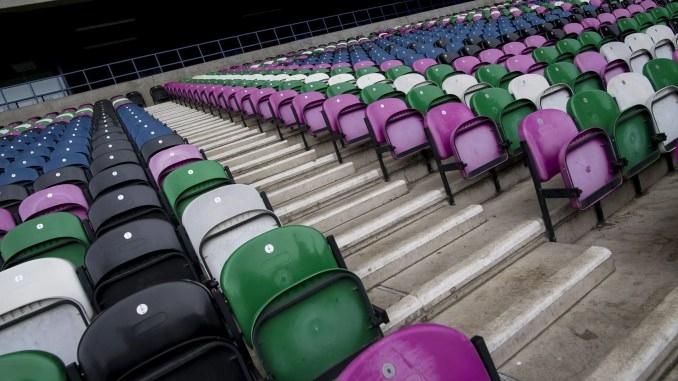 The stands at Murrayfield will remain empty during the remainder of this year's Six Nations. Image: © Craig Watson - www.craigwatson.co.uk