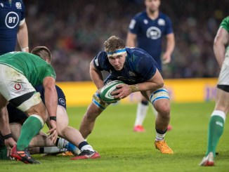 Jamie Ritchie will have his work cut-out against a powerful Irish back-row. Image: © Craig Watson - www.craigwatson.co.uk