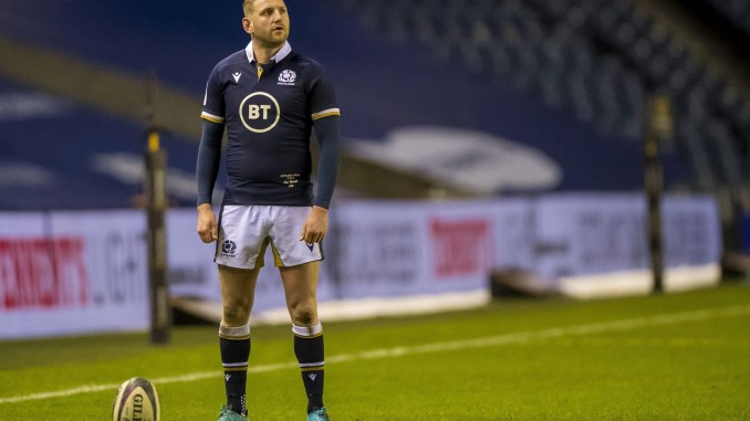 Finn Russell is one of eight Scots named in Warren Gatland's 37-man Lions squad this afternoon. Image: © Craig Watson - www.craigwatson.co.uk