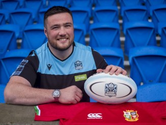 Zander Fagerson will have to wait for his Lions debut after suffering a back spasm which has ruled him out of Saturday's match versus Japan at Murrayfield. Image: © Craig Watson -www.craigwatson.co.uk