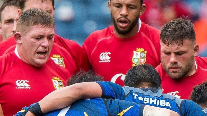Tadhg Furlong has been alongside Rory Sutherland in 184 of the 189 minutes he has played on this Lions tour. Image: Craig Watson