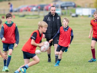 Craig McLeod oversees training at the Apex Rugby Academy