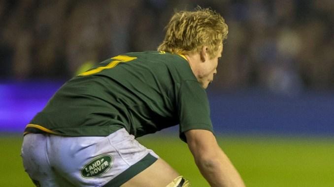 Pieter-Steph du Toit will miss Saturday's third Test due to a shoulder injury. Image: © Craig Watson - www.craigwatson.co.uk