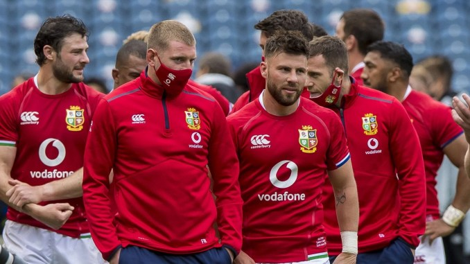 Could Finn Russell and Ali Price end up reunited at half-back for the Lions during Saturday's third Test? Image: © Craig Watson - www.craigwatson.co.uk