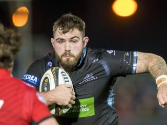 Jamie Bhatti is delighted to be back at Glasgow Warriors. Image: ©Craig Watson