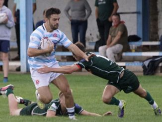 Robbie Kent of Accies is selected at outside centre. Image: John Wright
