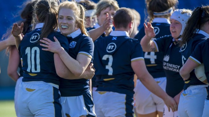Scotland secured a famous win over Ireland to keep their World Cup dream alive. Image: © Craig Watson - www.craigwatson.co.uk