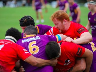It was a tough day at the office for Glasgow Hawks away to Marr. Image: Bob Coates