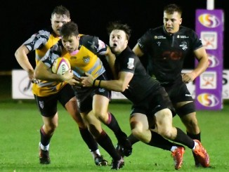 Ayrshire Bulls ended a tense battle against Southern Knights. Image: George McMillan