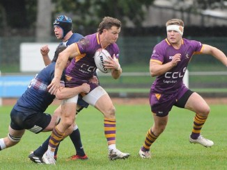 Marr remain top of the table after hard-fought win at Selkirk on Saturday. Image: Grant Kinghorn