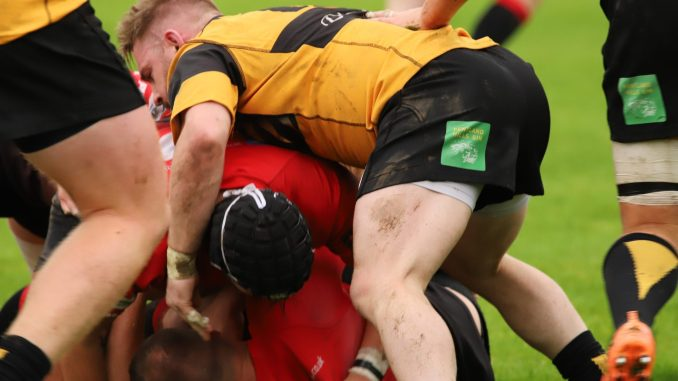 Currie Chieftains secured a narrow victory away to Glasgow Hawks. Image: Bob Coats