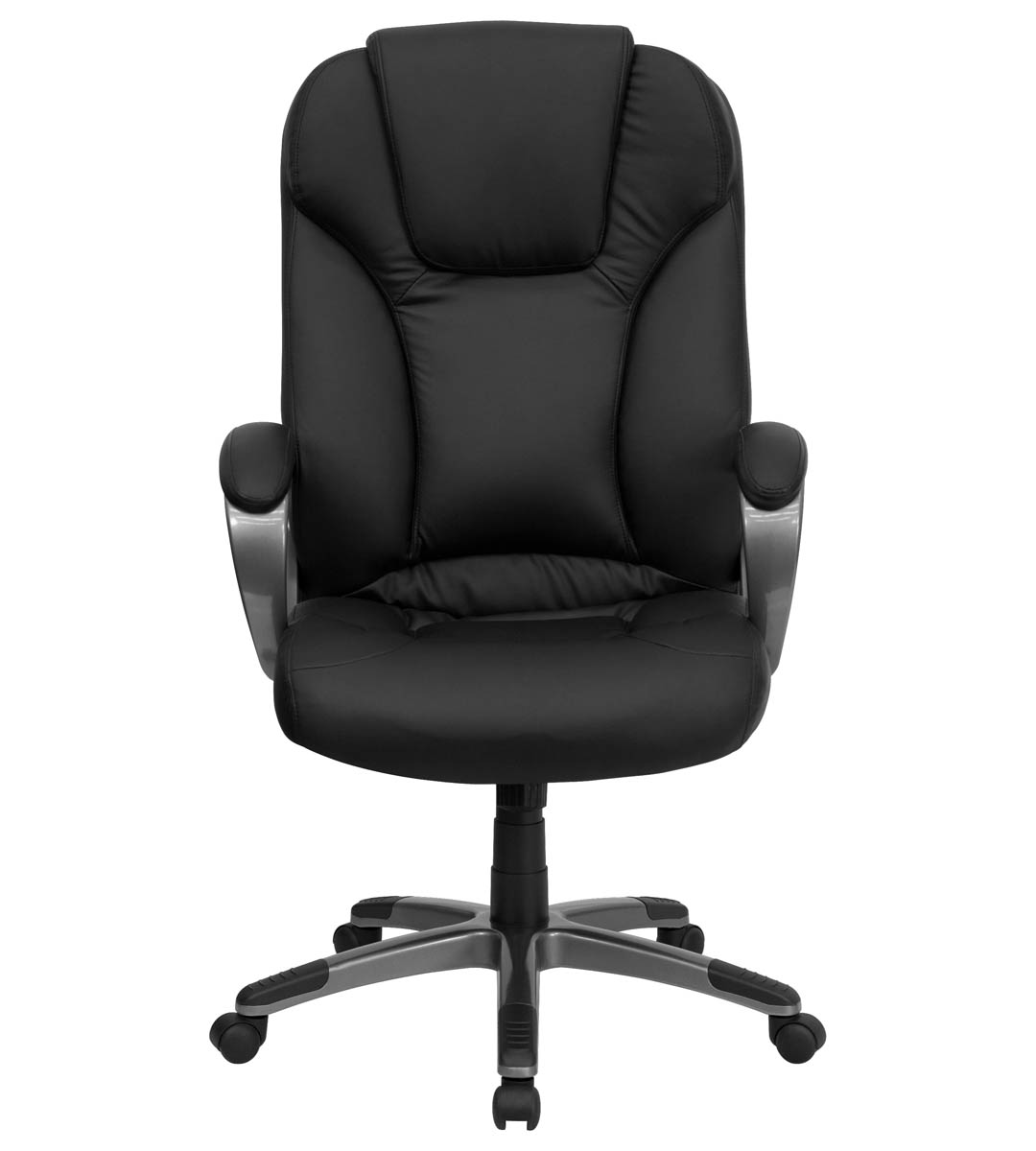 plush leather chair mom to be for baby shower formfit executive black office