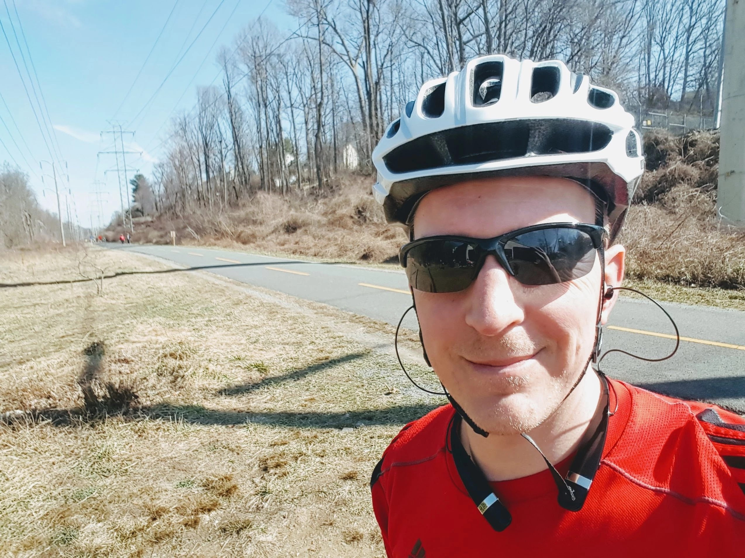 An avid recreational cyclist, especially to breweries