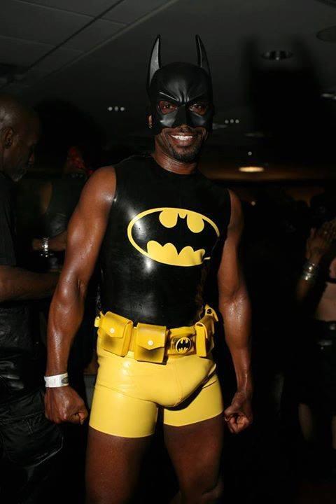 Batman gros paquet bite bulge