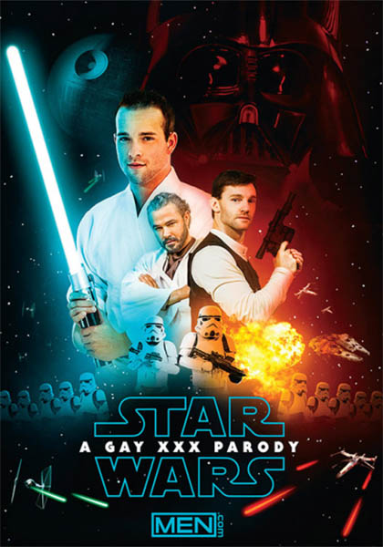 Star Wars parody film porno Gay