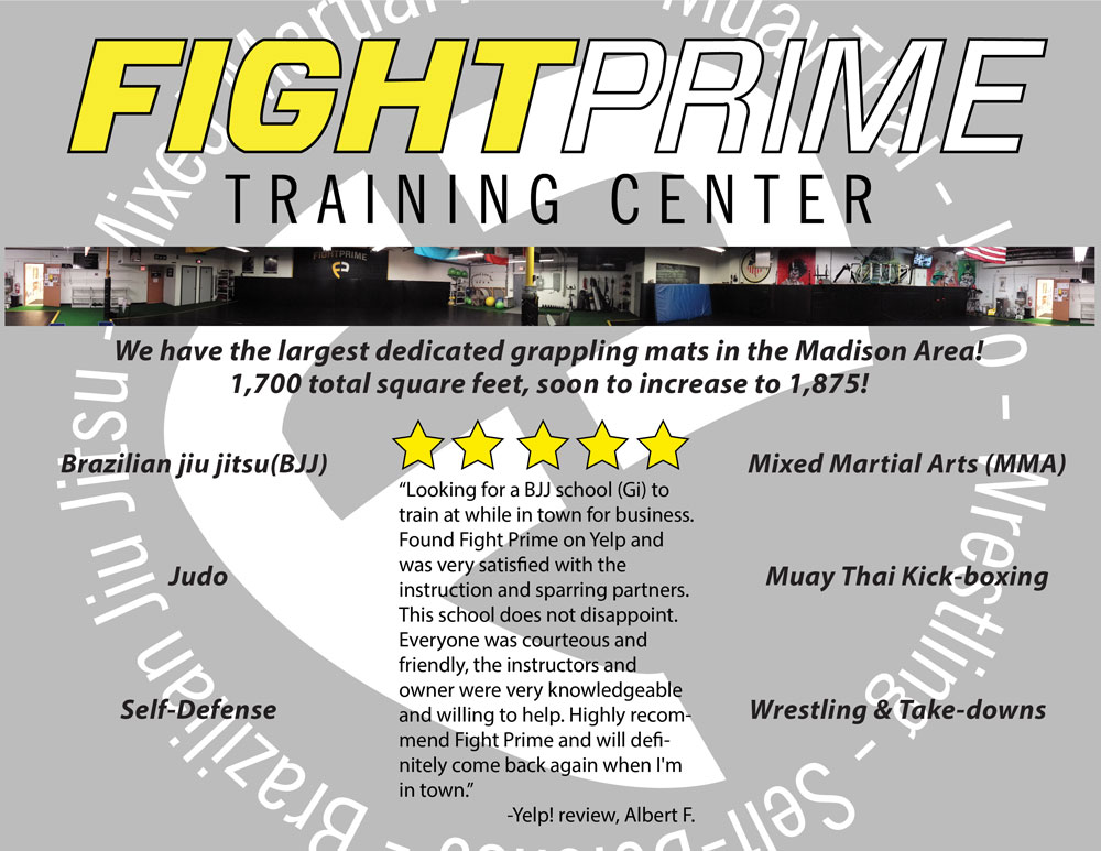 Fight prime training center website theo howard 39 s for Brochure design for training institute