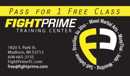 Fight Prime Business Card and Special Offer