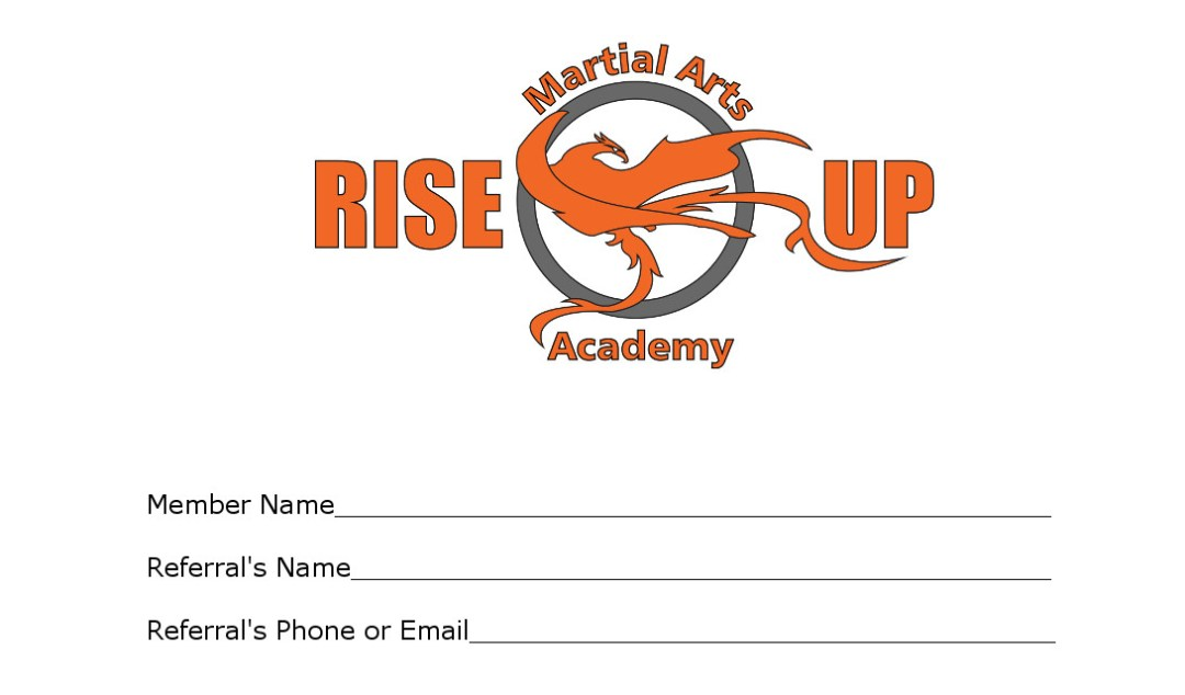 Rise Up Special Offer Business Card - Theo Howard\'s Creative Works