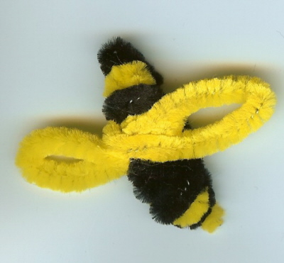 Pipe Cleaner Bees Pictures to Pin on Pinterest