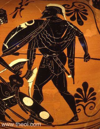 Ares Cycnus Ancient Greek Vase Painting