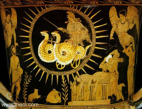 Image result for Medea greek vase