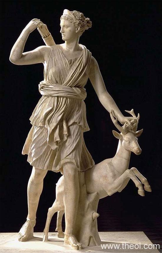 Artemis-Diana | Greco-Roman marble statue C1st A.D. | Musée du Louvre, Paris