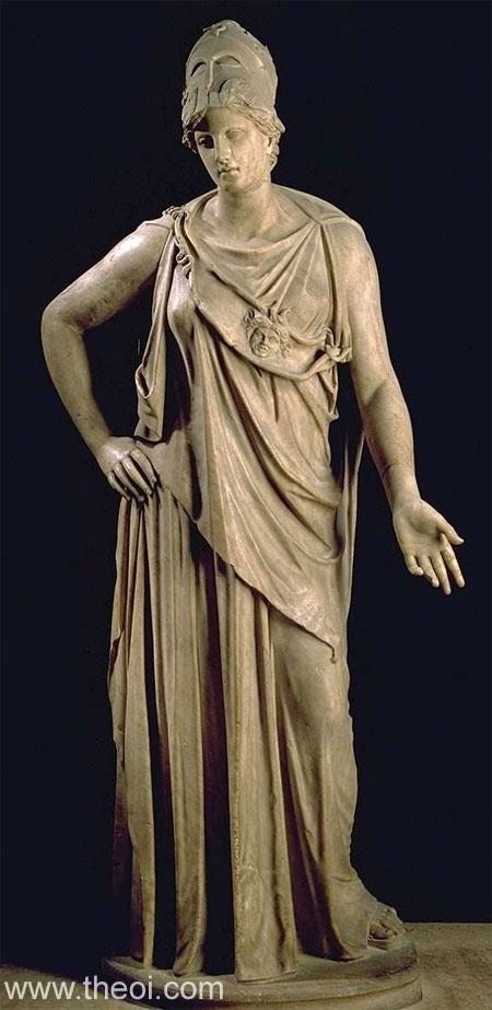 Pallas Athena | Greco-Roman marble statue C2nd A.D. | Musée du Louvre, Paris
