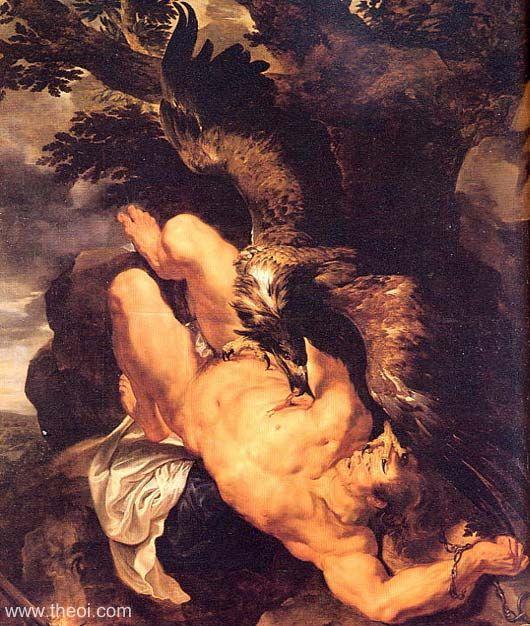 Prometheus Bound by Pieter Paul Rubens
