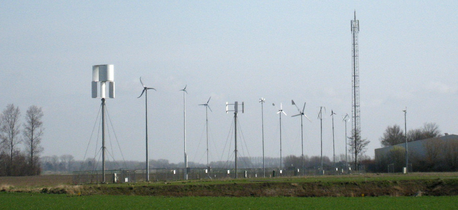 Small Wind Turbines on test