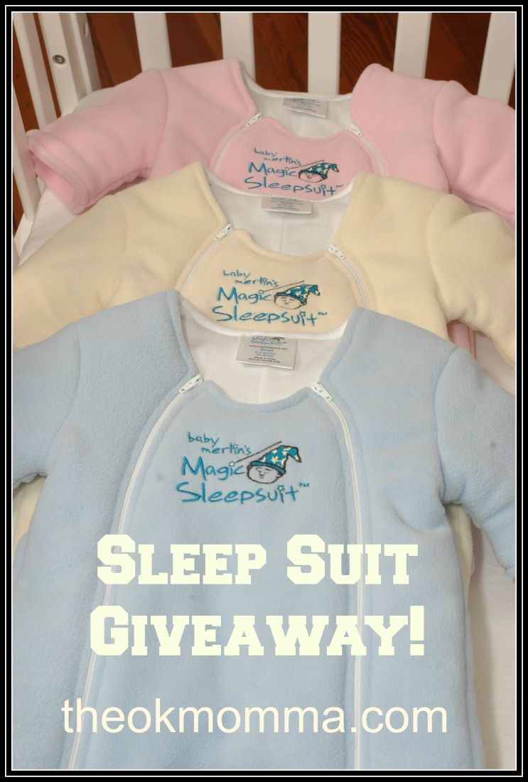 Merlin's Magic Sleep Suit Review & GIVEAWAY!