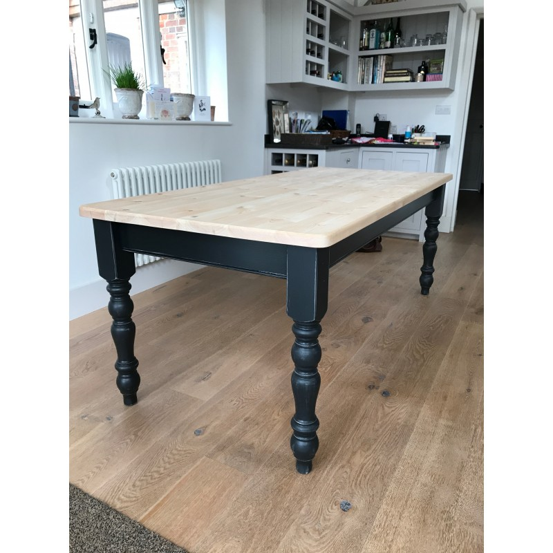 Farmhouse Table  Solid Pine