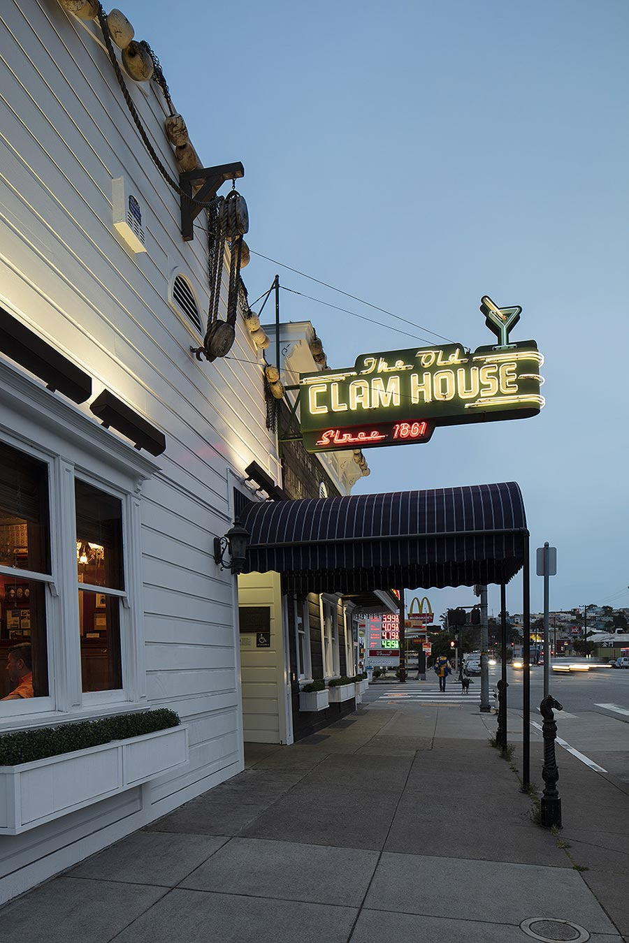 Welcome To The Old Clam House 299 Bayshore Blvd San