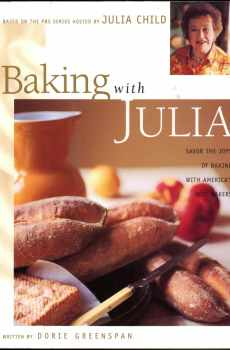 Baking With Julia Cookbook Julia Child 1996 First Edition PBS Series Hardcover Photos