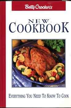 Betty Crocker's New Cookbook Eighth Edition 1996 Hardcover