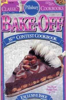 Pillsbury 35th Bake Off Contest Cookbook 100 Prize Winning Recipes 1992