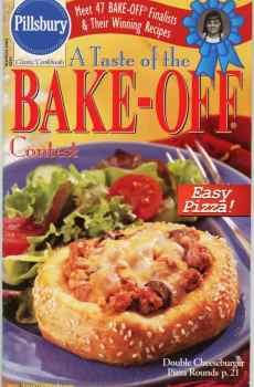 Pillsbury A Taste of the Bake Off Contest Cookbook Classic #241 2001
