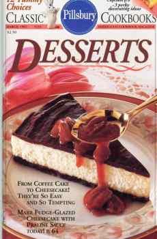 Pillsbury Desserts Cookbook Coffee Cakes Cheesecakes Classic #133 1992